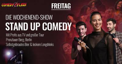 Stand-Up-Comedy Show - EINTRITT FREI - Freitag 19:00 Uhr - D...