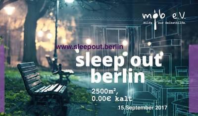 sleep out Berlin - Prominente & Interessierte schlafen s...