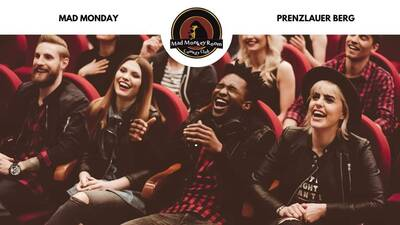 Mad Monday: Stand up Comedy im Mad Monkey Room Prenzlauer Be...