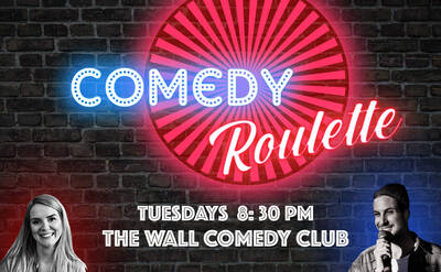 Comedy Roulette - Englische Comedy bei The Wall Comedy Club