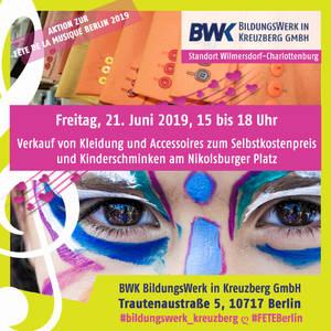BWK BildungsWerk in Kreuzberg, Kinderschmiken und Modemarkt