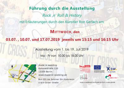 """Führungen zur Ausstellung """"Rock 'n' Roll &..."""