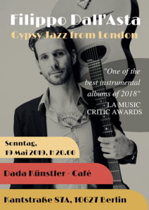 Filippo Dall'Asta - Gypsy Jazz from London