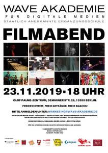 Interkultureller Kurzfilmabend. Premiere