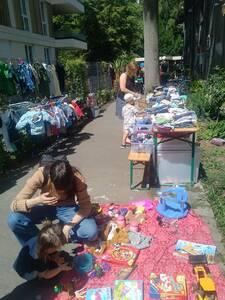 Flohmarkt in Inspectorvilla