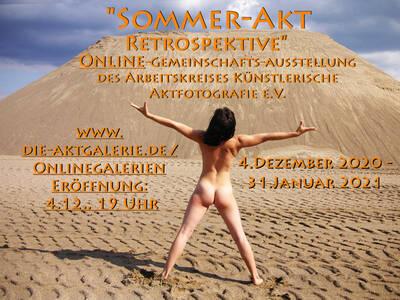 """Die Aktgalerie / Online-Gemeinschafts-Ausstellung """"Somm..."""