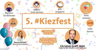 5. #Kiezfest im Mühlenkiez
