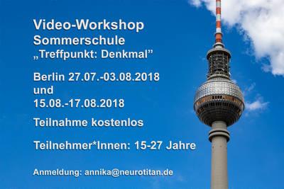 Video Workshop Treffpunkt:Denkmal