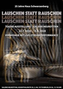 Ausstellung: Lauschen statt Rauschen. 25 Jahre Haus Schwarze...