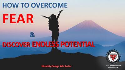 How to overcome fear & discover endless potential