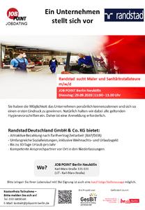 Jobdating mit Randstad Deutschland GmbH Co. KG