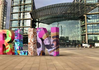 Kunstinstallation #freiheitberlin