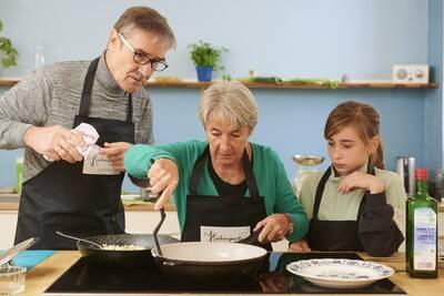 Kochaktionen für Jung & Alt - Gemeinsam kochen und essen...