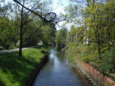 Panke im Ortsteil Gesundbrunnen