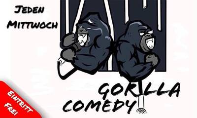 ★ Gorilla Comedy★ Stand Up in Prenzlauer Berg (U-bhf Eberswa...