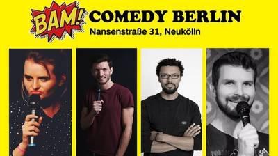 BAM! Comedy Show in Neukölln