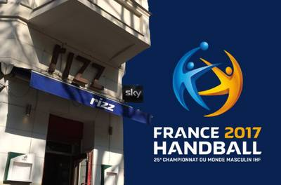 Handball WM 2017 Deutschland - Ungarn in Kreuzberg Graefekie...