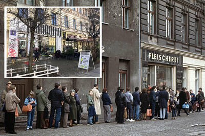 Kiezspaziergang. Leben an der Mauer: Die Oderberger Straße