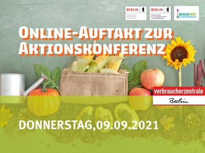 Online-Auftaktveranstaltung: Berlin is(s)t klimafreundlich / Donnerstag 09. September 2021