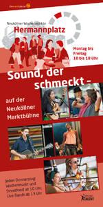 Sound, der schmeckt - Ab Mai auf der Neuköllner Marktbühne a...