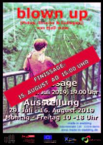 """FINISSAGE """"blown up"""" - Fotos, Fotomontagen und Sie..."""