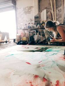 Vernissage: BOLD - Malerei von Lilian Mühlenkamp in der Gale...