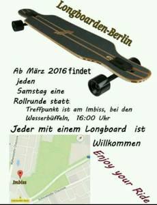 Longboarden Berlin Ostkrone