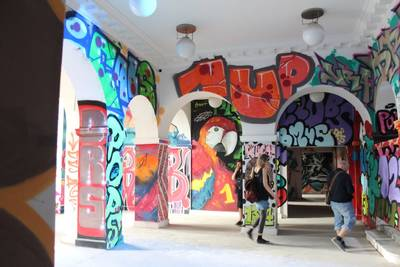 URBAN LINES Vernissage zur Graffiti & Urban Art Ausstell...