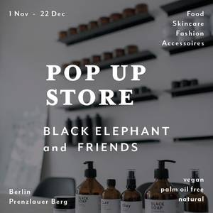 POP UP STORE Black Elephant & Friends