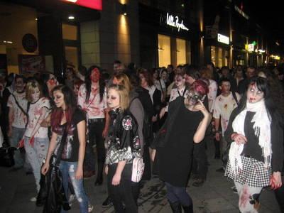 Zombie Walk durch Berlin
