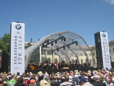 Staatsoper für alle 2018: Barenboim auf Bebelplatz