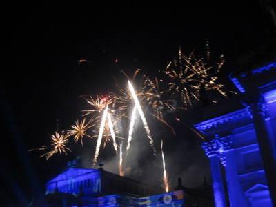 Classic Open Air Feuerwerk am Gendarmenmarkt