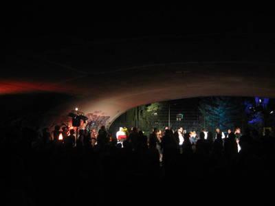 Kleine Nachtmusik und Open Air Tanzen am Plantscher