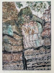 Verfallene Tempel… … Überwuchernde Natur