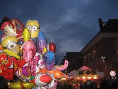 Sinterklaas Markt in holländischem Viertel Potsdam