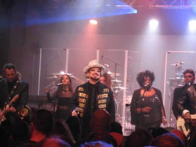 Erlebt: Boy George & Culture Club in intimer Club-Atmosp...
