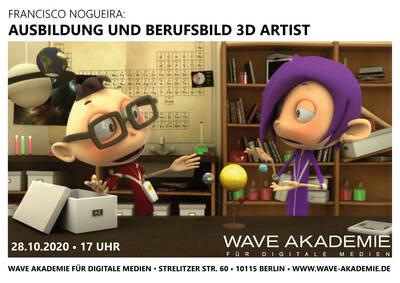 3D Welten. Ausbildung & Berufsbild 3D Artist