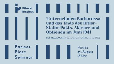 'Unternehmen Barbarossa' und das Ende des Hitler-Stalin-Pakt...