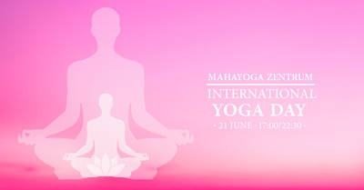 5th International Yoga Day at MahaYoga Zentrum
