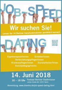 Job-Speed-Dating für Soziale Berufe