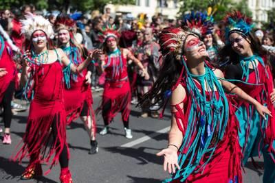 Karneval der Kulturen Umzug in Berlin