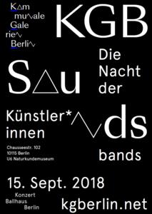 KGB-Sounds – Die Nacht der Künstler*innenbands