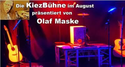Olaf Maske präsentiert die Kiezbühne im August