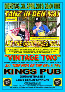 Tanz in den Mai mit Vintage Two - Let The Good Times Roll - ...