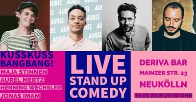 Stand-up Comedy: KUSSKUSS BANGBANG! Mixshow #NEUKÖLLN