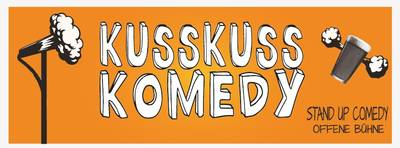 Stand-up Comedy: KUSSKUSS KOMEDY am 26. Juni in NEUKÖLLN