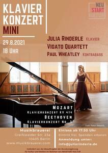 Klavierkonzert Mini