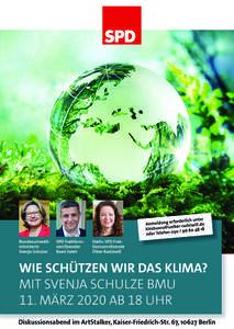 Wie schützen wir das Klima? Mit Bundesumweltministerin Svenj...
