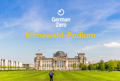 Klimawahl-Podium Wahlkreis Berlin Mitte
