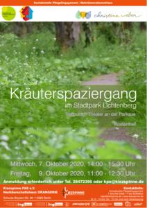 Kräuterspaziergang im Stadtpark Lichtenberg